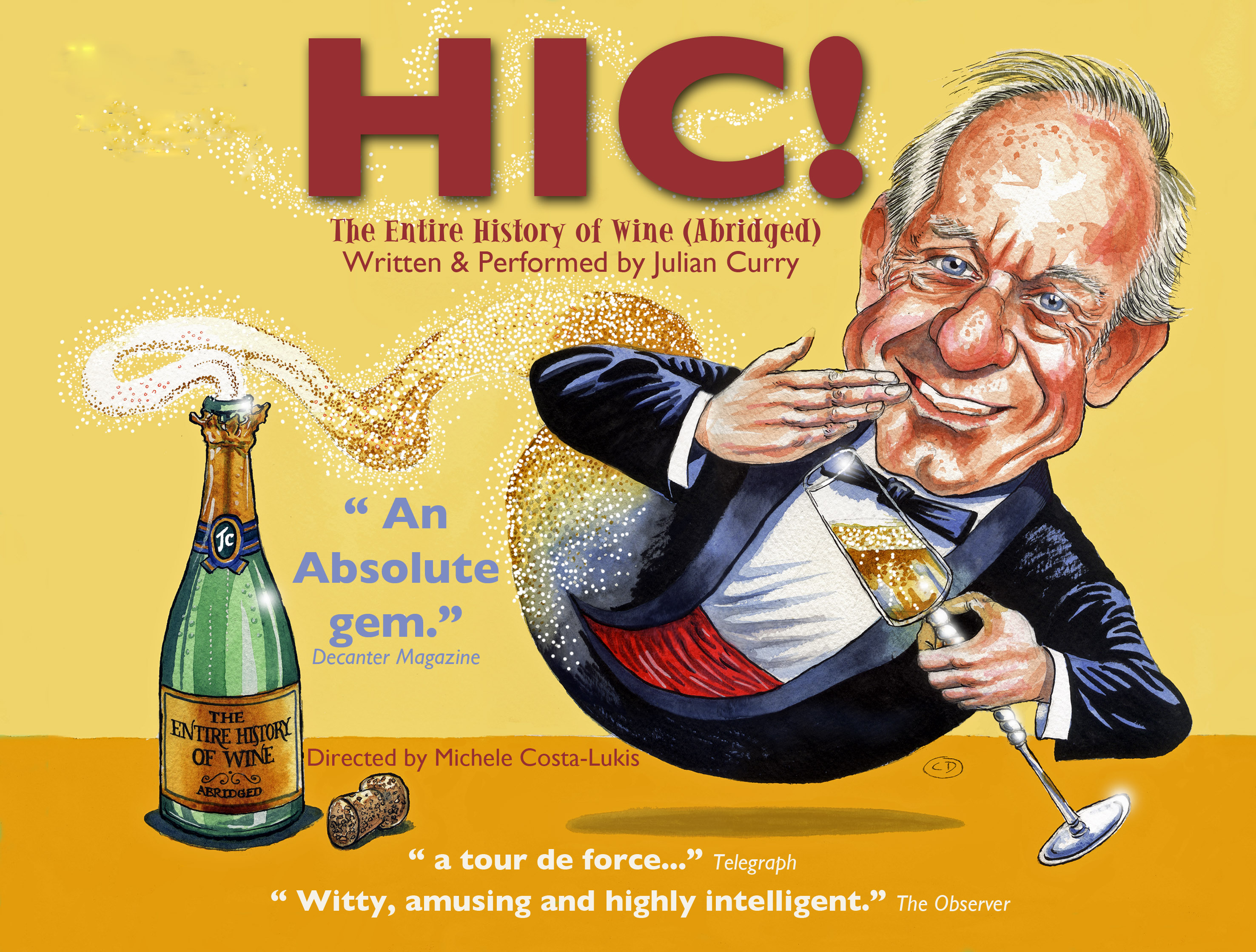 HIC! or The Entire History of Wine (abridged)